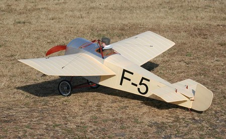 Ponnier Racer 1913 - Scale Early French Civilian Racer Model Airplane Kit