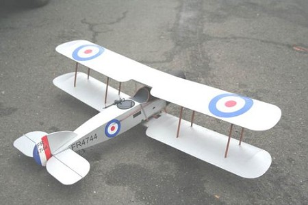 Bristol F2B Brisfit - Sport scale British WW1 Fighter Model Airplane Kit
