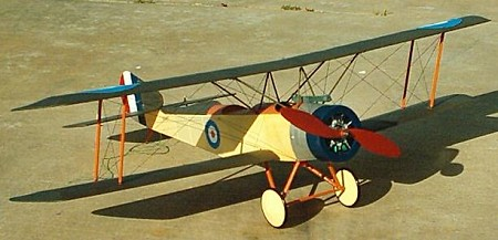 Sopwith Strutter 1 1/2 - Scale WW1 British Reconnaissance Scout Biplane Model Airplane Kit