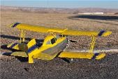 Grumman AgCat G-164 - Scale Civilian Cropduster Biplane Model Airplane Kit
