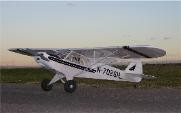 Piper Super Cub - Scale Civilian Monoplane Model Airplane Kit