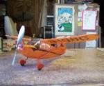 Stinson Voyager FF - Scale Civilian Monoplane Model Airplane Kit