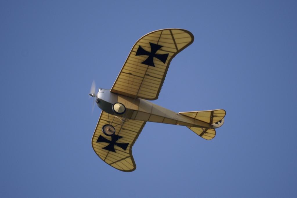 Historical Fighter Aircraft Pre-WW1 German Etrich Taube Spy Plane Model SORA/_6