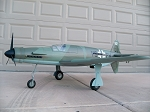 Dornier Do-335 Pfeil - German WW2 Fighter Model Airplane Kit