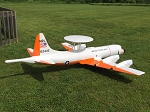 Lockheed P-3 Orion - Sport scale Postwar American Anti-Submarine Model Airplane Kit