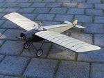 Morane Saulnier Racer - Sport scale French Early Civilian Model Airplane Kit
