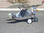 Aviatik 30.40  N169 - Sport 1/8 scale WW1 Austrian fighter Model Airplane Kit