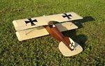 Albatros D.II  N089 - Sport 1/14 scale WW1 German fighter Model Airplane Kit