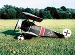 Fokker D.VI  N087 - Sport 1/8 scale WW1 German fighter Model Airplane Kit