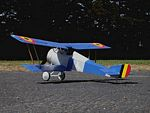 Hanriot HD-1  N027 - Sport ~1/9 scale WW1 French fighter Model Airplane Kit