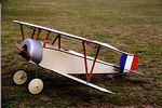 Nieuport 11 'Bebe'  N005 - Sport 1/6 scale WW1 French fighter Model Airplane Kit