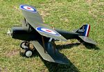 RAF SE-5A  N067 - Sport 1/6 scale WW1 British fighter Model Airplane Kit