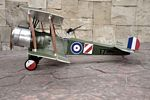 Sopwith Strutter 1 1/2  N173 - Sport 1/9 scale WW1 British observation Model Airplane Kit