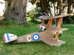 Sopwith Triplane  N135 - Sport 1/8 scale WW1 British fighter Model Airplane Kit