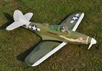 Bell P-39 Aircobra - Scale WW2 American fighter Model Airplane Kit