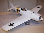 Focke Wolf FW-190 - Scale WW2 German fighter Model Airplane Kit