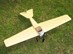 Hanriot Monoplane 1910 - Scale Early French Civilian Model Airplane Kit